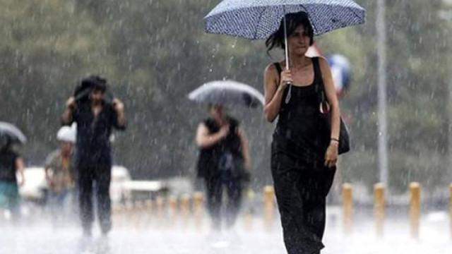 Meteoroloji tarih verdi ! Sağanak yağış geri dönüyor