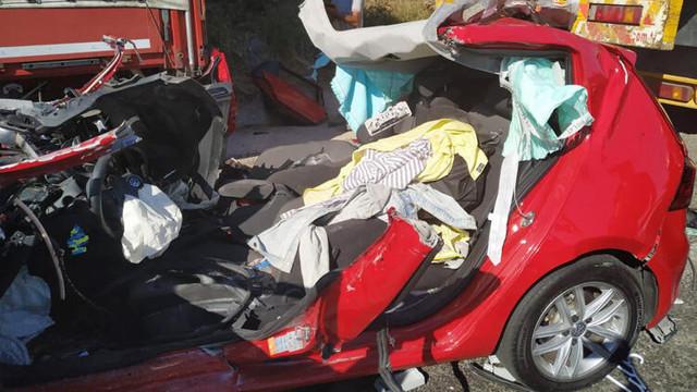 Muğla'daki korkunç kazadan sağ kurtuldular !