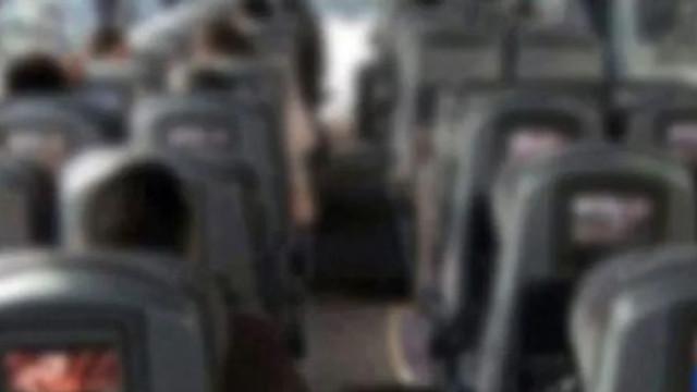Halk otobüsünde genç kıza taciz !