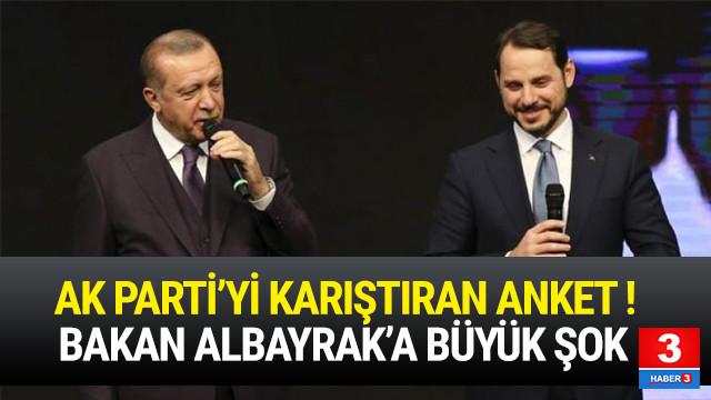AK Parti'yi karıştıran anket ! Albayrak'a büyük şok !