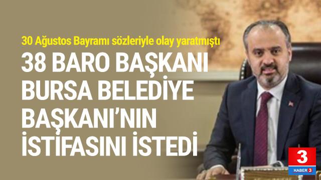 38 baro başkanı Alinur Aktaş'ı istifaya çağırdı !