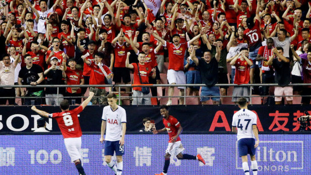 Tottenham 1 - 2 Manchester United (2019 Uluslararası Şampiyonlar Kupası)