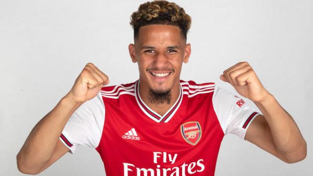 Arsenal William Saliba'yı kadrosuna kattı