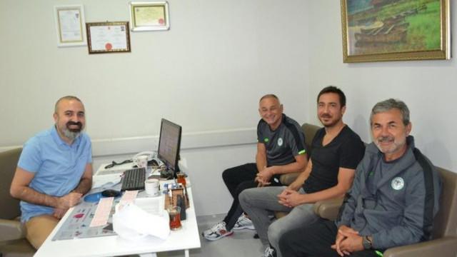 Aykut Kocaman, sağlık kontrolünden geçti