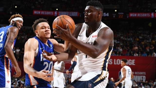 NBA'da draftın 1 numarası Zion Williamson sakatlandı