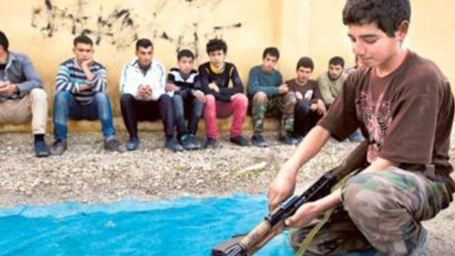 ''Suriye'de tüm örgütler çocuk savaşçı kullanıyor''