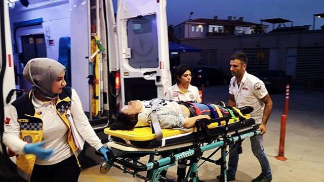 Kazadan kurtuldu babasından kurtulamadı !