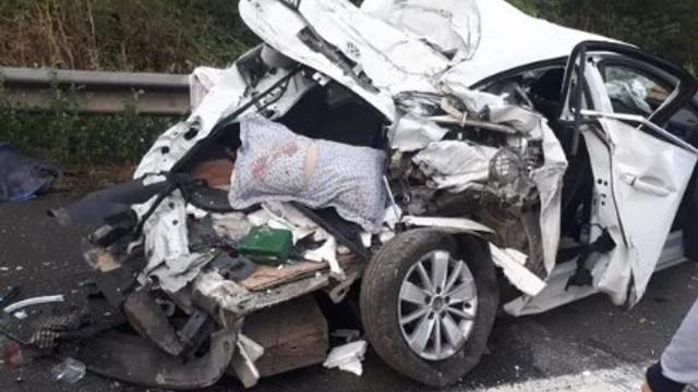 TEM otoyolunda zincirleme kaza: Çok sayıda yaralı var