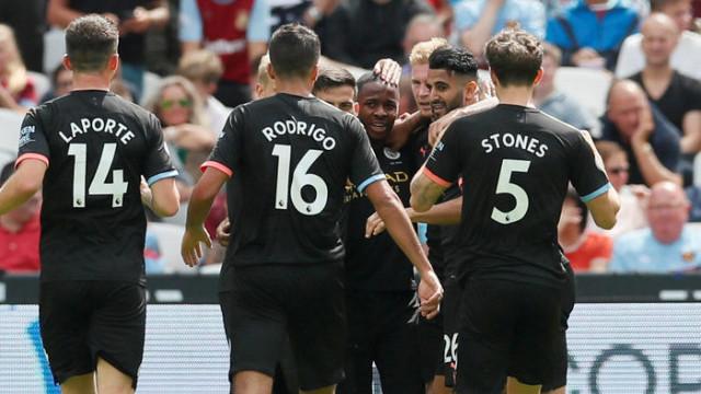 West Ham United 0 - 5 Manchester City