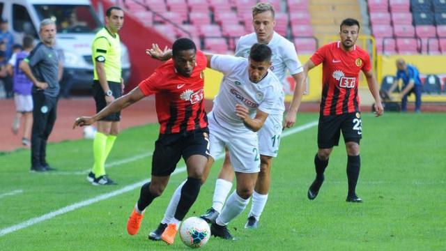 Eskişehirspor 1 - 1 Konyaspor (Hazırlık maçı)