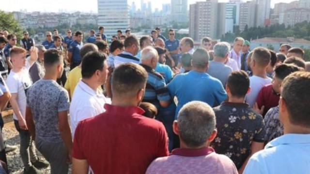 Kurban pazarında gerginlik: Polis müdahale etti