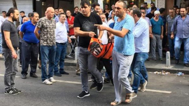 İstanbul'da bekçi dehşeti !