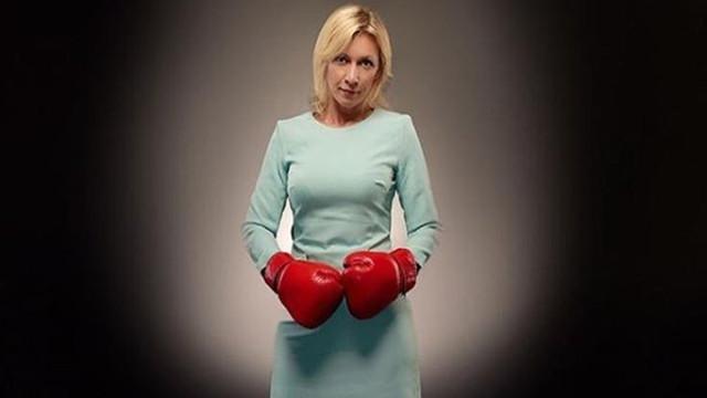 Rus kadın diplomattan boks eldivenli paylaşım