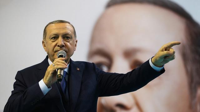 Erdoğan: ''Dün bitti, geçti gitti, bugün yeni bir gündür''