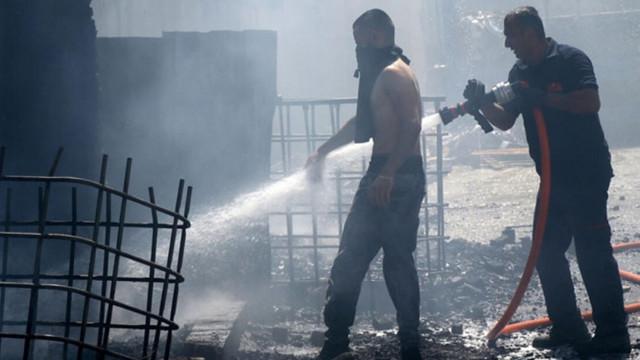 İzmir'deki yangını PKK çıkarmış