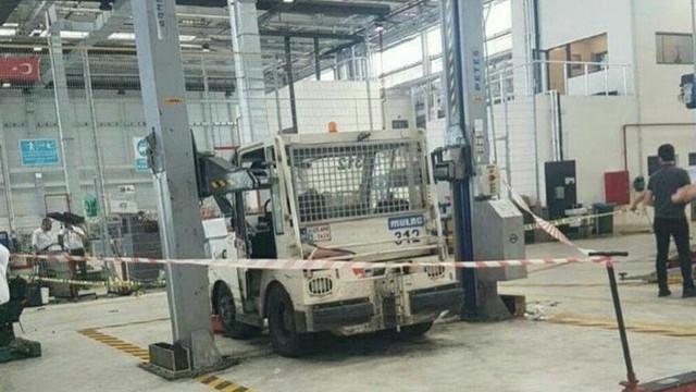 İstanbul Havalimanı'nda korkunç kaza: 1 ölü, 1 yaralı
