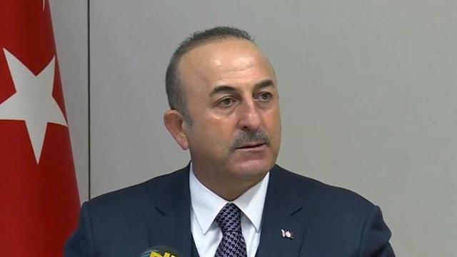 Çavuşoğlu'ndan YPG açıklaması: Trump'ın 20 mil sözü var