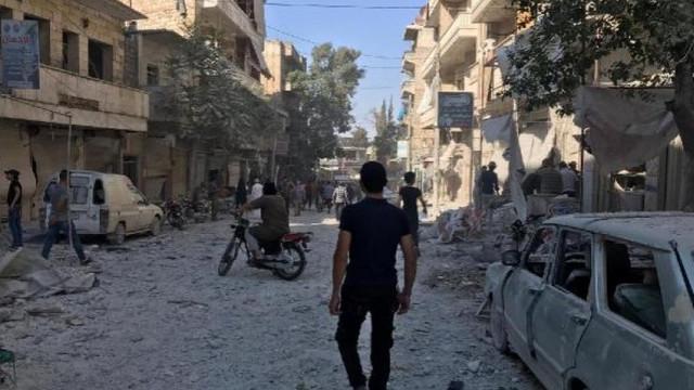 İdlib'e hava saldırısı: 2 kişi öldü, 27 kişi yaralandı