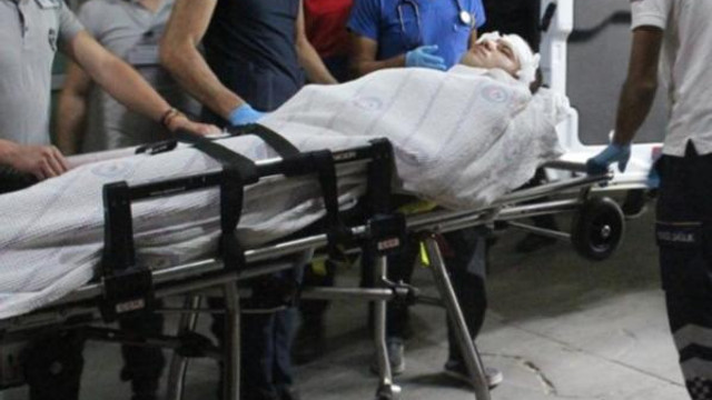 Askerin silahla şakası hastanede bitti