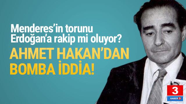 Ali Babacan'ın partisinin lideri Menderes'in torunu mu ?
