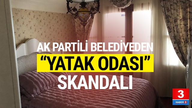 AK Partili belediyede 'yatak odası' skandalı