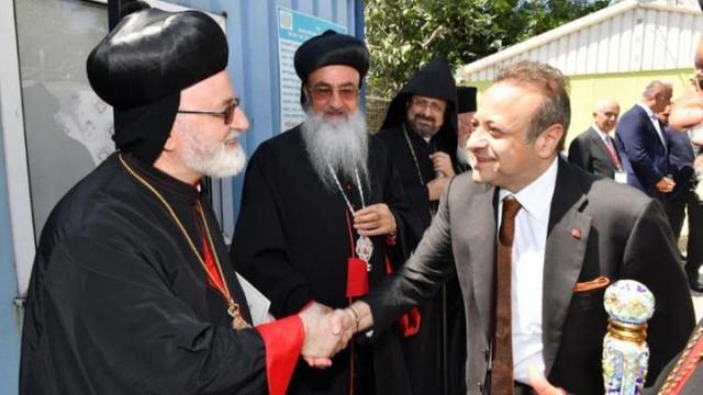 Mor Efrem Kilisesi projesinin mimarı Egemen Bağış