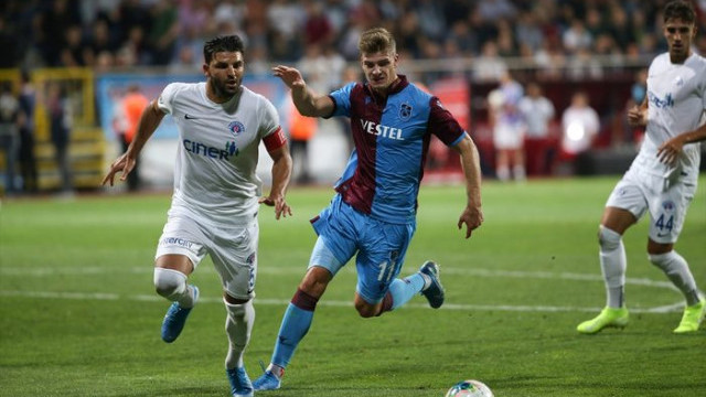 Sörloth Trabzonspor'a yetmedi! Ligde ilk kayıp