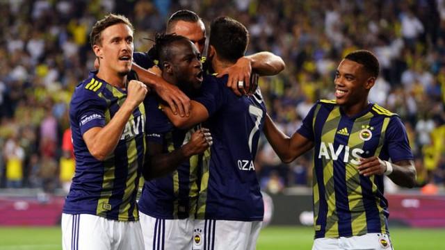 Fenerbahçe, Gazişehir Gaziantep maçının ilk yarısında %86'lık topla oynama başarısı gösterdi
