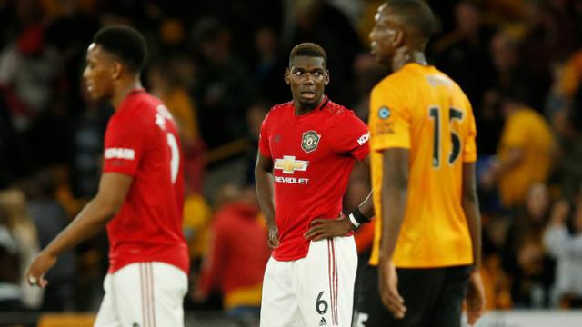 Manchester United 1 - 1 Wolverhampton