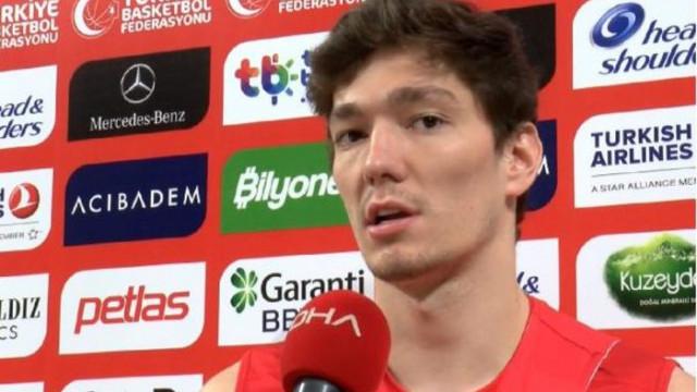 Cedi Osman: Umuyorum ki birkaç sene içerisinde Avrupa'nın iyi takımlarından olacağız