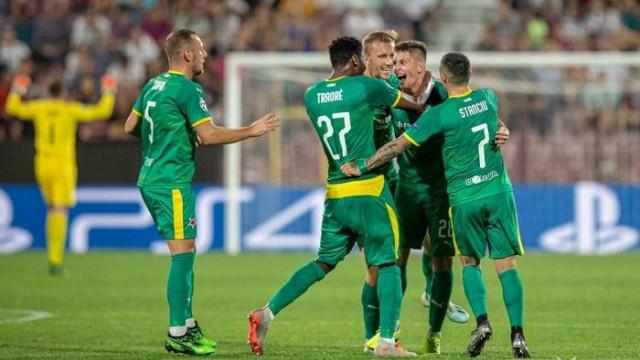 Cluj 0 - 1 Slavia Prag