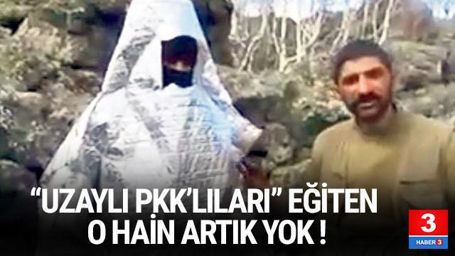 PKK'lıları eğiten o terörist, jandarma timinin pususuna düştü