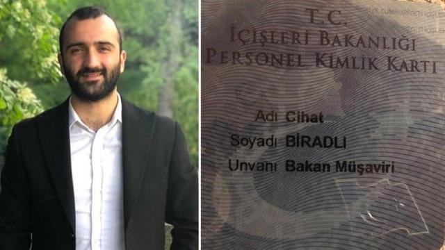 AK Parti Gençlik Kolları'ndan İçişleri Bakanlığı'na müşavir atandı