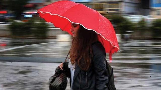 Meteoroloji uyardı ! Sağanak yağış kuvvetli vuracak