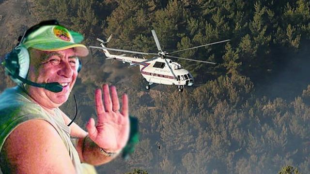 İzmir'deki yangına müdahale eden pilot ölü bulundu
