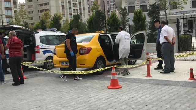 Şişli'de taksiciye gasp dehşeti