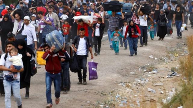 Türkiye sınırına akın akın geliyorlar