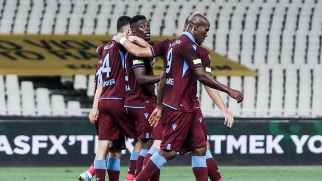 AEK 1 - 3 Trabzonspor