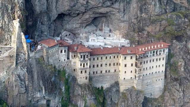 Bakanlık Sümela Manastır'ının hazinesinin peşine düştü