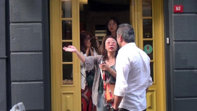 Taksim'de turistlere büyük şok !