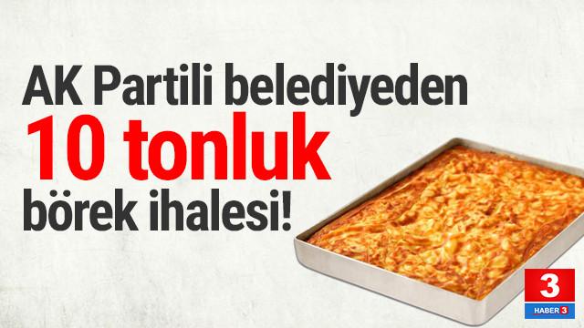 AK Partili belediyenin dikkat çeken siparişi