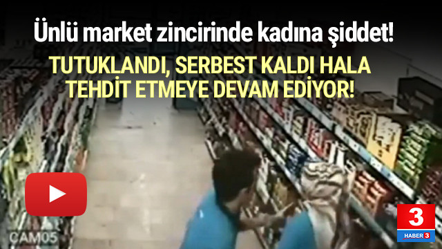İstanbul'da kadına şiddet kamerada !