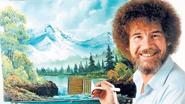 Bob Ross'un tablolarının nerede olduğu ortaya çıktı