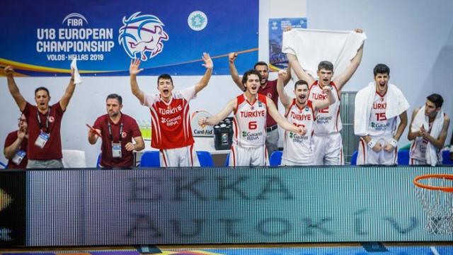 18 Yaş Altı Erkekler Avrupa Basketbol Şampiyonası'nda Türkiye finalde!