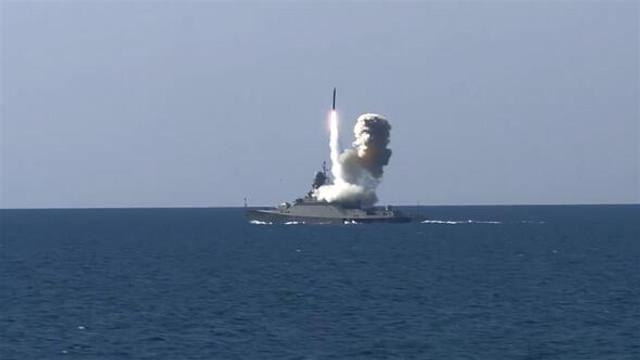Rusya Karadeniz'de şov yaptı !