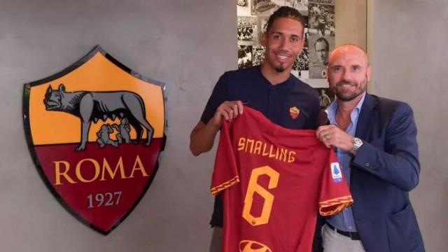 Roma, Chris Smalling'i 1 yıllığına kiraladı