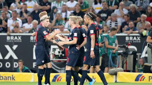 Borussia Mönchengladbach 1 - 3 Leipzig (Bundesliga)