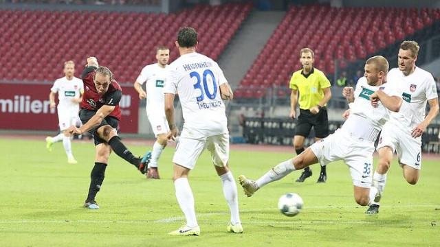 Michael Frey, Heidenheim maçında ilk golün asistini yaptı