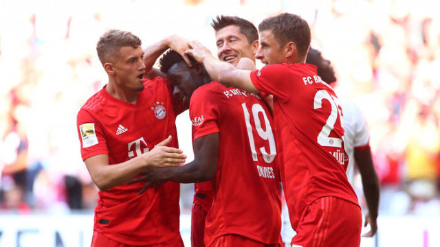 Bayern Münih 6 - 1 Mainz 05