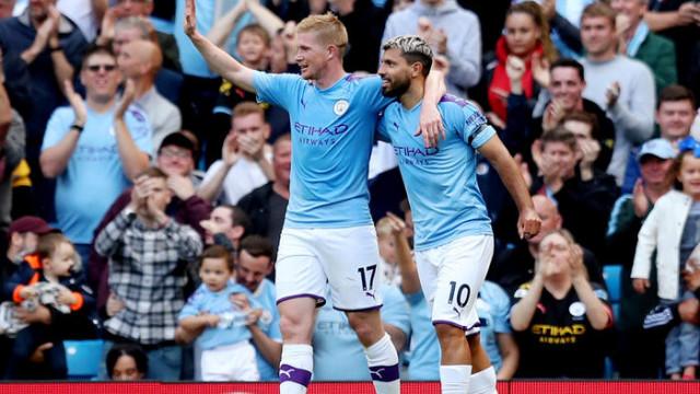 Manchester City 4 - 0 Brighton